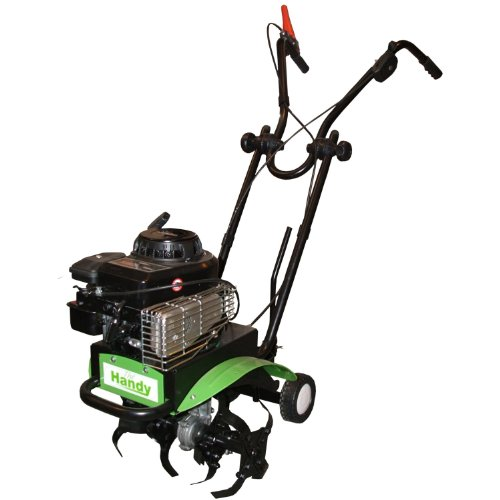 This 'Handy petrol tiller' is a very well made cultivator and is fitted with a very reliable engine by Briggs & Stratton, all this equals a very good reliable machine.  If your looking for a reliable rotavator which offers good value for money, then this would be a good choice and will not let you down. Again, its not the lightest rotavator in the world.