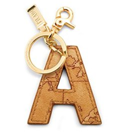 Alviero Martini Charm keyring Letter A Geo Natural