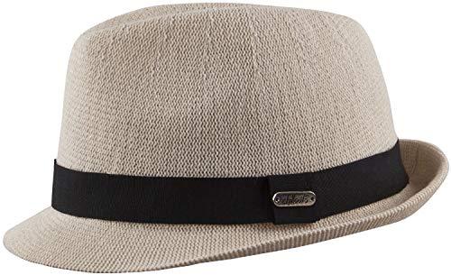 Bardolino Trilby Cappello Chillouts cappello da sole cappello in cotone L/58-59 - bianco crema