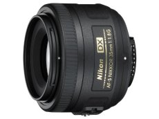 Nikon 313152 - Objetivo AF-S (35 mm, f/1.8), negro