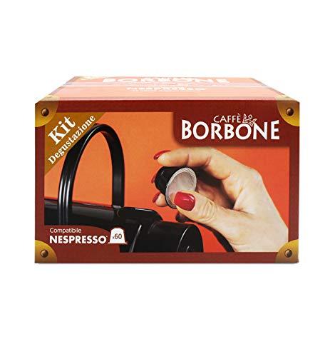 Caffè Borbone Kit Degustazione Compatibile Nespresso - 60 capsule (300 g)