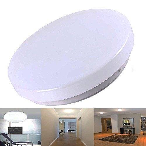 12W 10 Inch LED Flush Mount Ceiling Light Fitting For Living Room