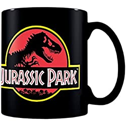 Close Up z888095 Jurassic Park Taza Classic Logo