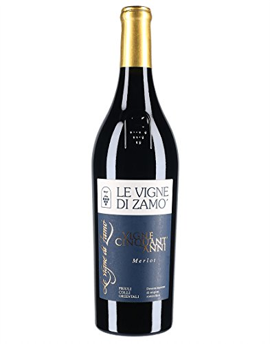 Friuli Colli Orientali DOC Merlot Vigne Cinquant'anni Le Vigne di Zamò 2013 0,75 L