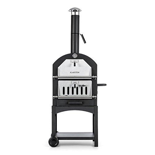 Klarstein Pizzaiolo Perfetto • forno per pizza • forno per grigliare • termometro integrato...