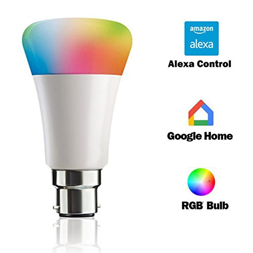 XORB 7W Wifi Smart LED Bulb Controlled with Amazon Alexa and Google Home