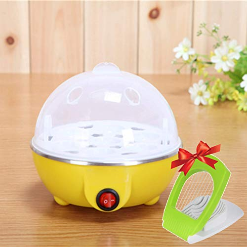 Manar Plastic 7 Egg Boiler Home Machine with Tray- Multicolour