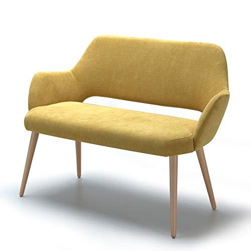 Marchio Amazon -Alkove, divano decorativo modello Andre, colore giallo