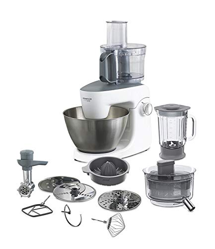 Kenwood KHH326WH Impastatrice Planetaria MultiOne, Acciao, 4.3 l, Bianco