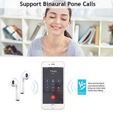 Auriculares-inalmbricos-Bluetooth-micrfono-Manos-Libres-y-reduccin-de-Ruido-micrfono-binaural-automtico-Caja-de-Carga-porttil