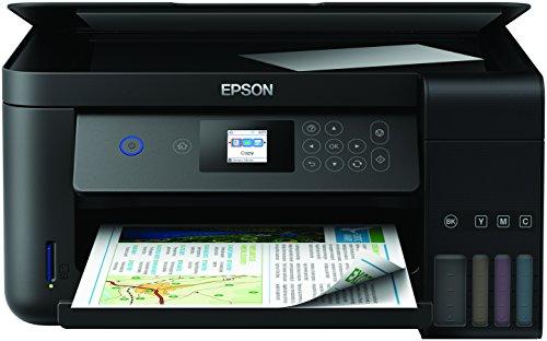 Epson EcoTank ET-2750, Stampante InkJet 3-in-1, 4 colori, Nero