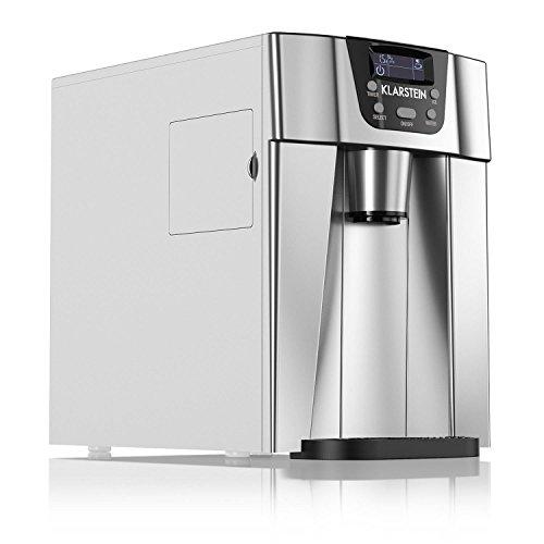 Klarstein Ice Volcano 2GS • macchina per il gelato • 12 kg/24 h • 2 dimensioni cubo •...