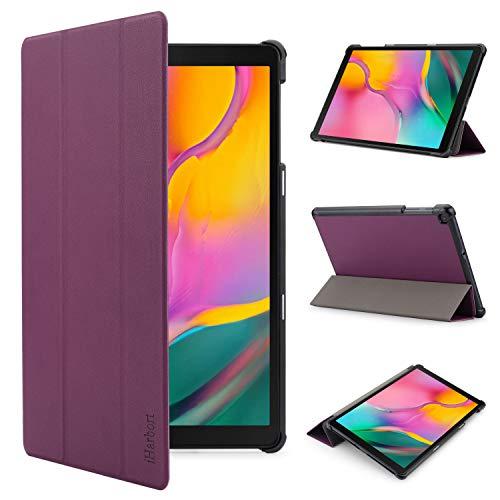 iHarbort Custodia in Pelle Cover per Samsung Galaxy Tab A 10.1 Pollice (Pubblicato 2019 SM-T510...