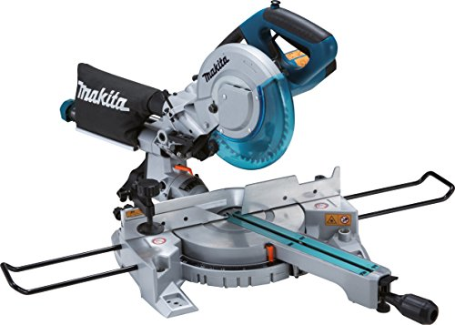 We find the Makita LS0815FL-240 V Slide Compound Mitre Saw to be unique among comparable mitre saws. It boasts a large cutting capacity and comes with a high-quality blade. This has the convenient positive stops you'd expect to find on a top quality tool along with a powerful soft start motor that should make for fast and accurate cuts. You will also appreciate the safety features on this model and other additions like the LED light, spindle lock, and dust extraction port. This mitre saw should be comfortable to transport as well.