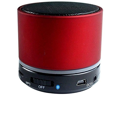 DEEP GLOBAL Samsung P1010 Galaxy Tab Wi-Fi Compatible Wireless LED Mini Speakers S10 Memory Card Slot/Pen Drive/Mic/FM Radio(Multicolour)