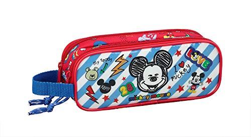 Mickey Mouse'Maker' Ufficiale astuccio Scuola 210x 60x 80mm