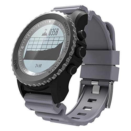 Orologi da uomo sportivo digitale con display OLED da 1,73 pollici, con altimetro/ barometro/...