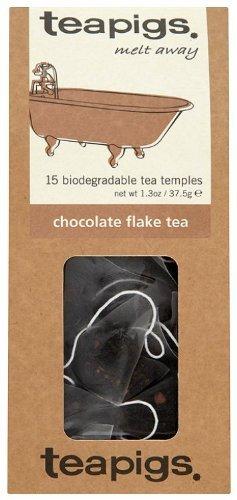 Teapigs chocolate flake tea bundle (black tea) (2 packs of 15 bags) (30 bags) (brews in 3 minutes)
