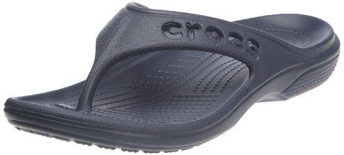 Crocs Baya Flip, Ciabatte Unisex - Adulto, Blu (Navy), 38/39 EU