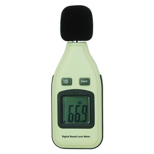 Tiny Deal Mini Digital LCD Monitor Sound Noise Level Meter 30~130Dba ±1.5Db Decibel Pressure