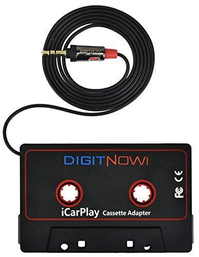 DIGITNOW! Adattatore Cassette per Auto, Riprodurre Musica per Smartphone Tramite il Auto Vassoio...