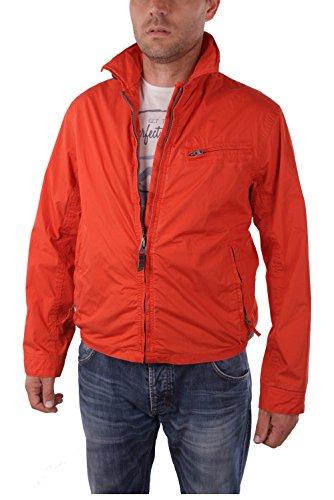 Timberland Stratham Pocket Bomber Jacket da uomo (Medium, Rosso)