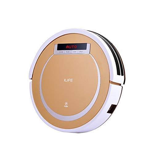 Ilife V55 Robot Aspirapolvere, Bianco/Gold