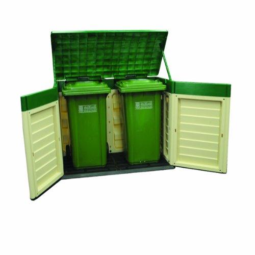 Starplast Plastic Garden Wheelie Bin Store Review