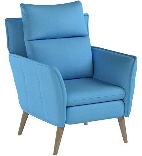 place to be Hochwertiger Skandinavischer Relaxsessel Insideout Schlaffunktion Salbei + Eiche + 16 weitere Farben + Buche