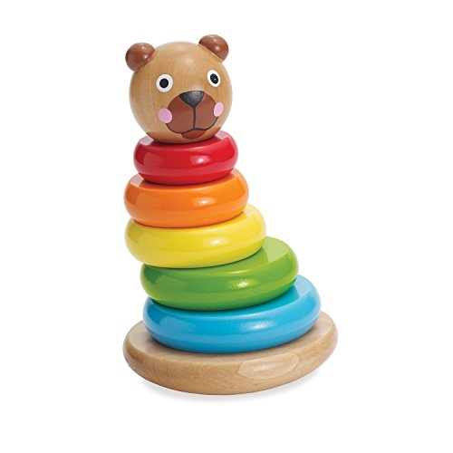 Manhattan Toy Brilliant Bear Magnetic Stack-up, Essential baby toys, toys for every developmental stage, baby toys, must have baby toys, the best toys for babies, gift ideas for babies, Christmas baby gift ideas, gifts for babies