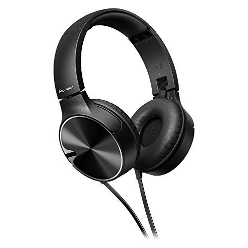 Pioneer SE-MJ722T-K - Auriculares, Color Negro