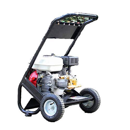 IDROPULITRICE BISON POWER BS170A,con motore a scoppio 6,5 hp e pompa in ottone 180 bar max,150 bar...