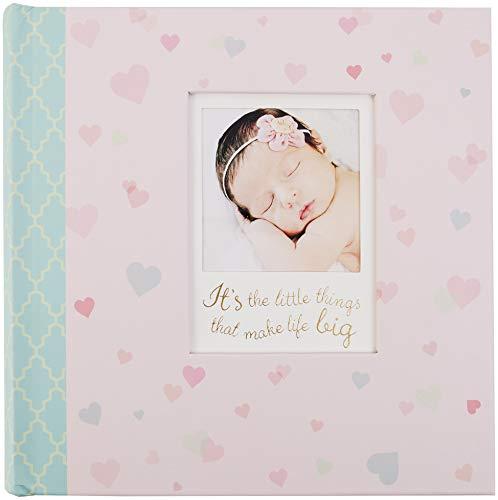 "C.R. Gibson Little Love Baby Girl Photo Album, 9"" x 8.125"""