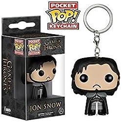 Llavero Pop Jon Snow de Juego de Tronos