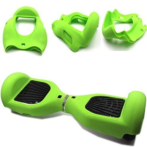 """icase4u - Rivestimento per hoverboard, da 6,5"""", per hoverboard a 2ruote, Green"""