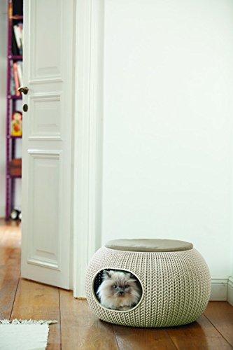 Curver Cozy Cuccia Chiusa - 58X58X33H Beige