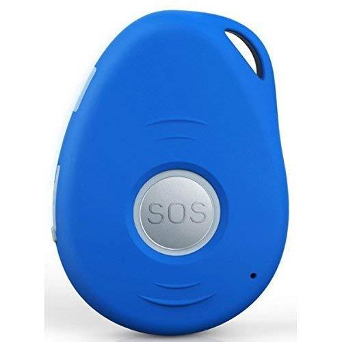 oppla' Sistema con Chiamata di Emergenza e Telesoccorso per Anziani con GSM, GPS, Rilevamento di Caduta e Base di Ricarica