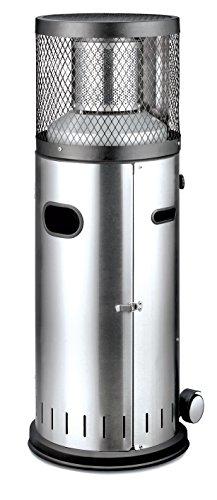 Enders Terrassenheizer Gas POLO 2.0, Gas-Heizstrahler 5460, Terrassenstrahler mit stufenloser Regulierung, ENDUR Reflektionssystem, Transporträder, Umkippsicherung