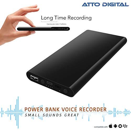 Registratore Vocale per 14 giorni di registrazione | 3 in 1 Registratore Audio ad Attivazione Vocale...