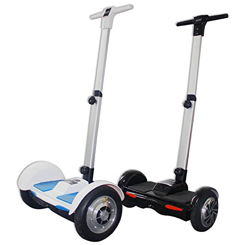 Wheelo Hoverboard with Handle F1, Nero