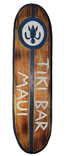 Tabla de surf 100 cm TIKI Bar Decoración de Hawaii