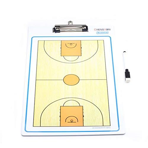 Bangxiu-sports Lavagna Magnetica Calcio, Mini Coaches Marker Board Etero Basket Training Mark Board...