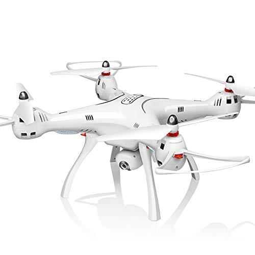 QWER Drone con Telecamera Grande Aereo GPS in Tempo Reale con Drone Aereo con Scheda di Memoria Telecomando Aereo FPV in Tempo Reale Mappatura Fotocamera Foto 3D Rotolo