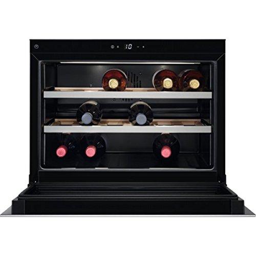 AEG KWK 884520 M cantina vino Incasso Acciaio inossidabile 18 bottiglia/bottiglie Cantinetta vino...