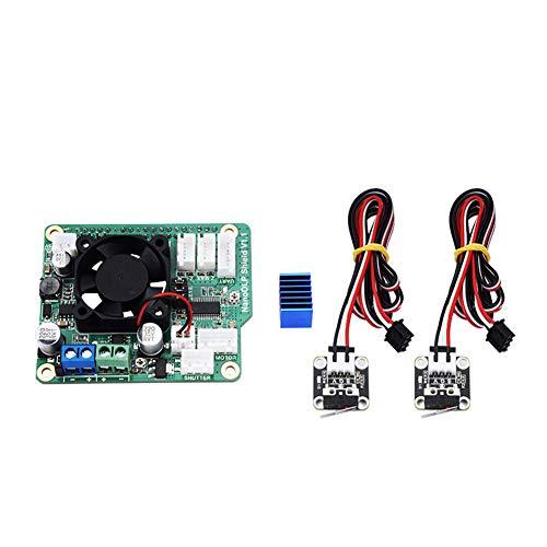 Rokoo Nanodlp Shield v1.1espansione con DRV8825Controled MOS per Raspberry Pi B 3D Printer