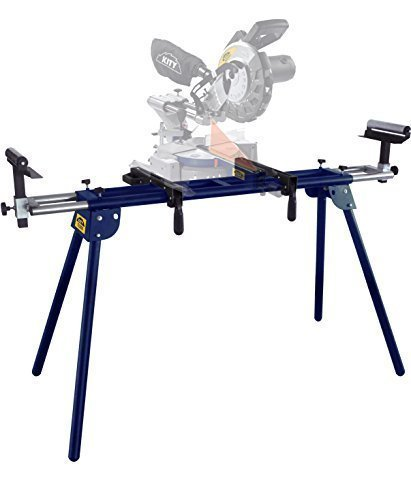 The Arrow Universal Mitre Saw Stand is a lightweight, heavy duty model that fits almost every bench top tool on the market including sliding or fixed mitre saws, chop saws, sanders, pillar drills, planers, and more, best of all its also one of the most affordable as well under £100.