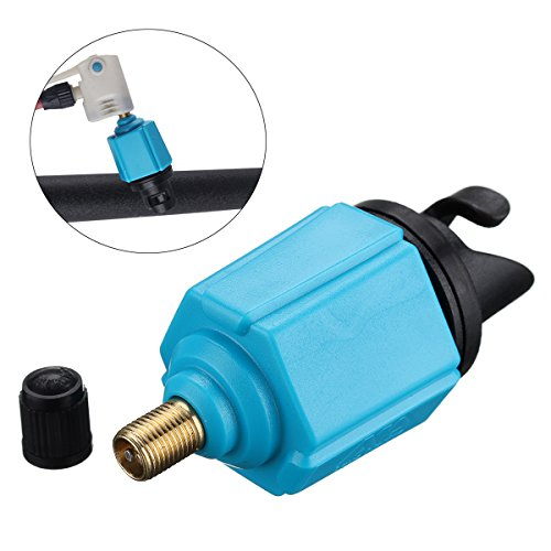 RISHIL WORLD Sup Adapter Inflatable Boat Pump Adaptor Air Valve Paddle Board Pump Accessories