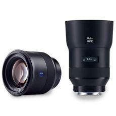 Carl Zeiss Batis 1.8/85 - Objetivo (Telefoto, SLR, 11/8, Sony E, Sony, Negro)
