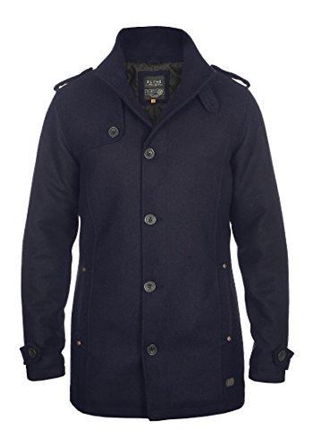 BLEND Warren - Cappotto da Uomo, taglia:M;colore:Navy (70230)