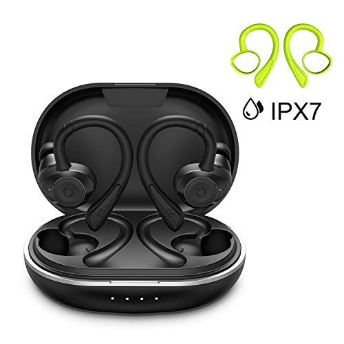 Auricolari Bluetooth Sport HolyHigh Bluetooth 5.0 Cuffie Senza Fili IPX7 Impermeabili 6+30H...